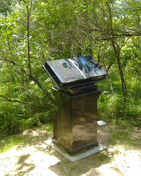 cremation trail monument